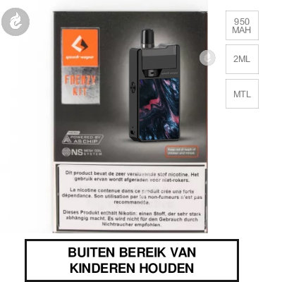 Geekvape Frenzy Startset Black Ghost