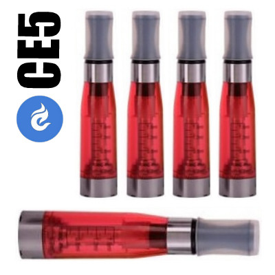 CE5 clearomizer 1.6ml Rood