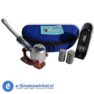 K eCig E-Pipe Kit Zilver