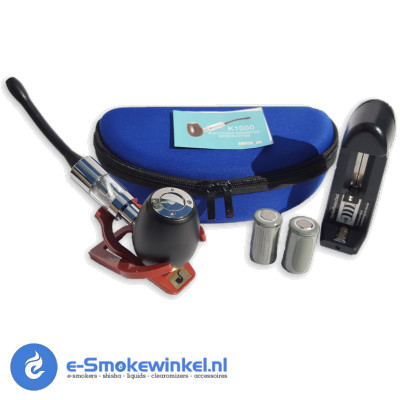 K eCig E-Pipe Kit Zwart