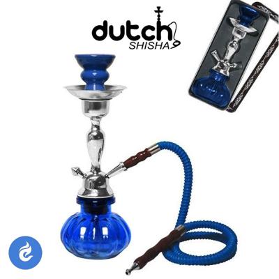 Dutch Shisha Waterpijp 29cm Blauw