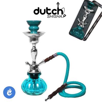 Dutch Shisha Waterpijp 29cm Lichtblauw