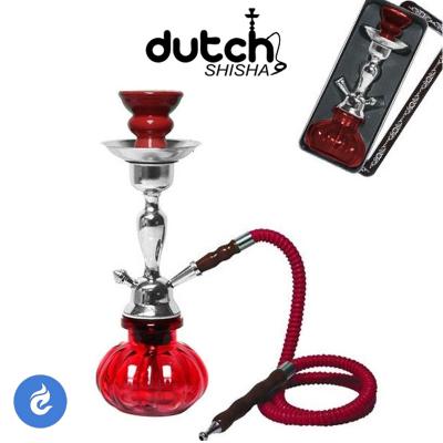 Dutch Shisha Waterpijp 29cm Rood