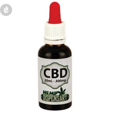 Hemp Dispensary Oil 300mg CBD 30ml