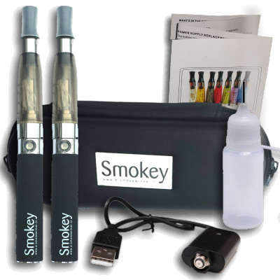 EGO Smokey CE4 kit DUBBEL (zwart)