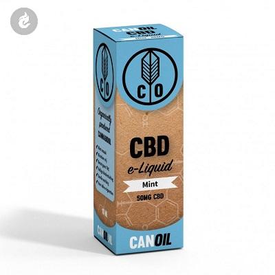 CANOIL CBD E-LIQUID MINT 50MG CBD nicotinevrij