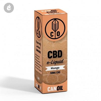 CANOIL CBD E-LIQUID MANGO 50MG CBD nicotinevrij