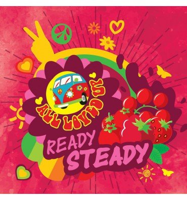 BIG MOUTH ALL LOVED UP: Ready Steady
