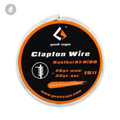 Geekvape Kanthal A1 NI80 Tape Wire 26GA NI80+32GA (15ft)