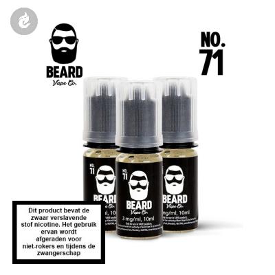 Beard Vape NO.71 - 6mg Nicotine