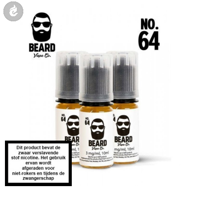 Beard Vape NO.64 - 3mg Nicotine