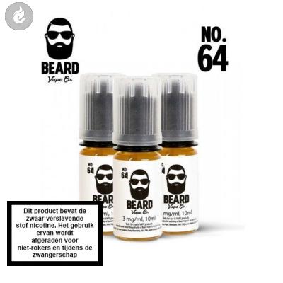 Beard Vape NO.64 - 12mg Nicotine