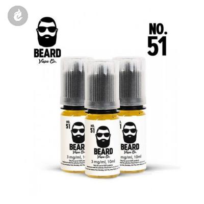 Beard Vape NO.51 Nicotinevrij