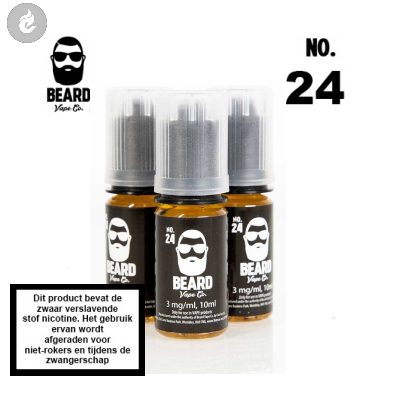 Beard Vape NO.24 -3mg Nicotine