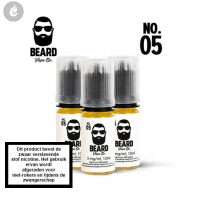 Beard Vape NO.05 - 3mg Nicotine