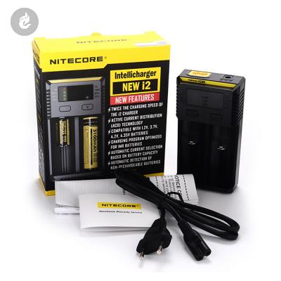 NiteCore Intellicharge New i2 Batterij Oplader