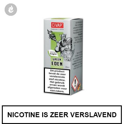 CIVAP e-Liquid Green Eden / Groene Appel 6mg Nicotine