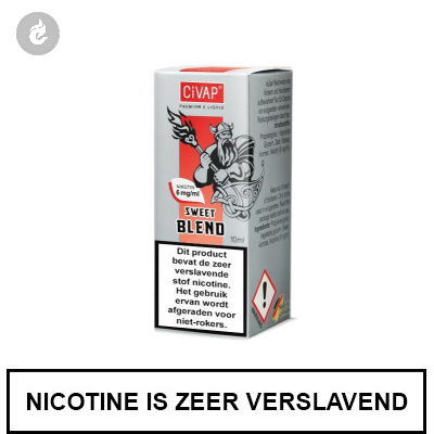 CIVAP e-Liquid Sweet Blend / American Blend Gold 6mg Nicotine