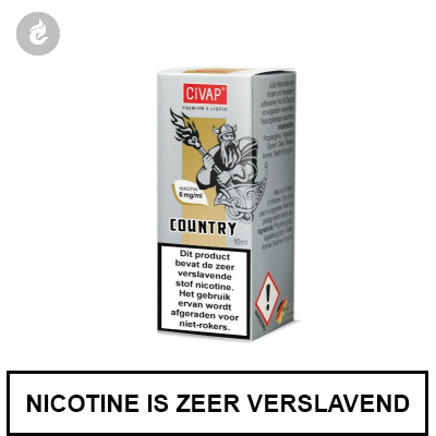 CIVAP e-Liquid Country / Dominion Tabak 6mg Nicotine