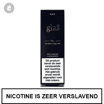 Glas - OFT e-Liquid 3mg nicotine
