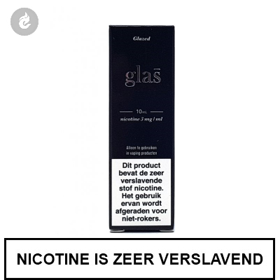 Glas - Glazed e-Liquid 3mg nicotine