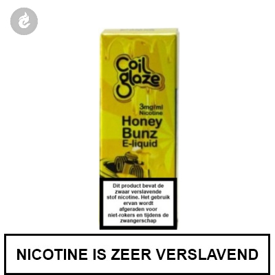 Coil Glaze Honey Bunz e-Liquid 3mg nicotine