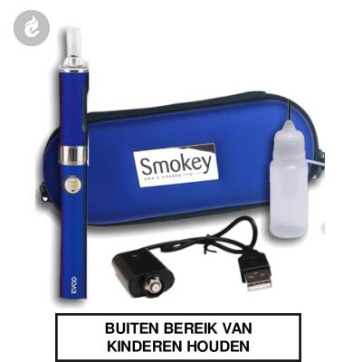 EGO EVOD Smokey II kit (blauw)