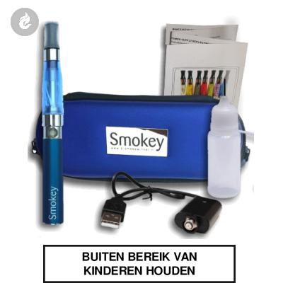 EGO Smokey CE4 Kit Blauw