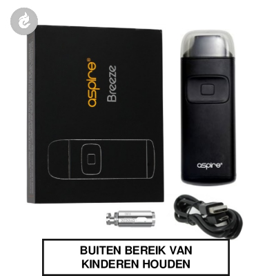 Aspire Breeze Pocket AIO Starterskit Zwart