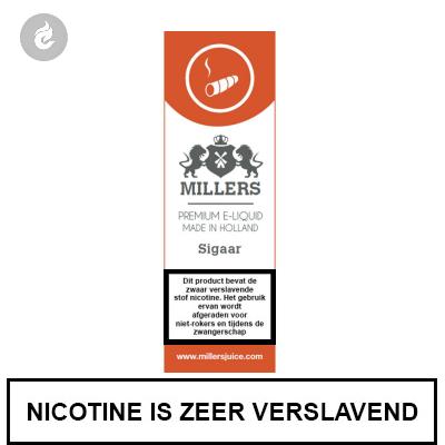 MILLERS JUICE SILVERLINE SIGAAR 6mg nicotine