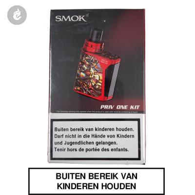 Smok Priv ONE Starterskit Rood/Geel