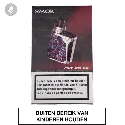 Smok Priv ONE Starterskit RVS/Blauw