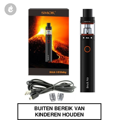 Smok Stick V8 Baby Starterskit Zwart
