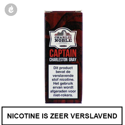 Charlie Noble Captain Charleston Gray 6mg Nicotine