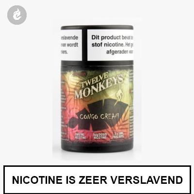 Twelve Monkeys Congo Cream 12mg Nicotine