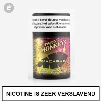 Twelve Monkeys Macaraz 12mg Nicotine