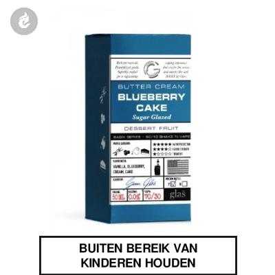 GLAS Basix Shake & Vape - Blueberry Cake