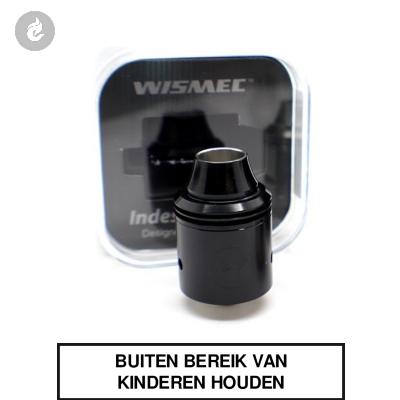 WISMEC Indestructable dripper (RDA) Zwart