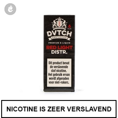 DVTCH Amsterdam Red Light District 6mg Nicotine
