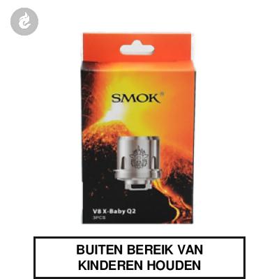 Smok V8 X-Baby Q2 Coils 0.4ohm (doosje 3 stuks)