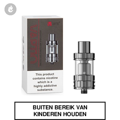 Vaptio PI TF Clearomizer 2ml Chroom