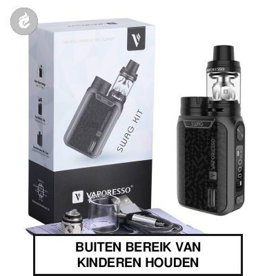 Vaporesso SWAG TC Kit 80W Zwart