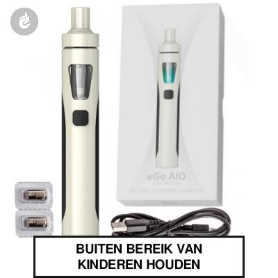 Joyetech eGo AIO Kit 1500mah Wit/Zwart
