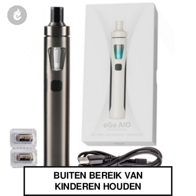Joyetech eGo AIO Kit 1500mah Brushed Gunmetal