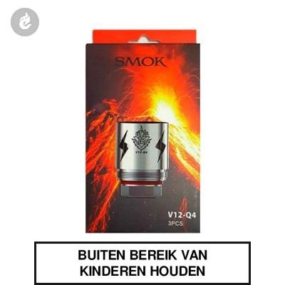 Smok V12 Q4 Coils 0.15ohm (doosje 3 stuks)