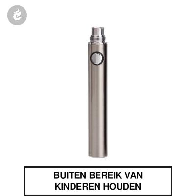 EGO EVOD Smokey II Batterij Chroom