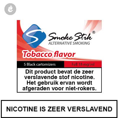 SmokeStik Cartridges Regular Tabak Zwart 18mg Nicotine