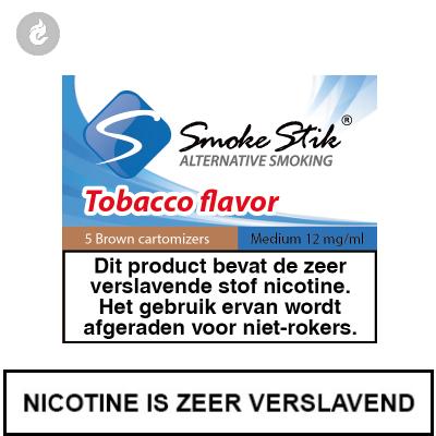 SmokeStik Cartridges Regular Tabak Bruin 12mg Nicotine