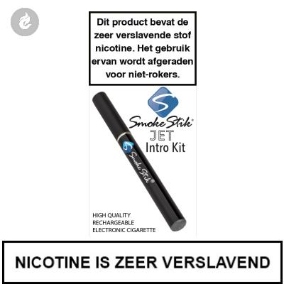 SmokeStik Jet Introkit Zwart (enkel)