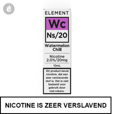 Element Nic Salts Watermelon Chill Ns/20mg Nicotine 10ml